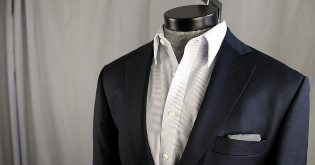 Tieless and pocket square