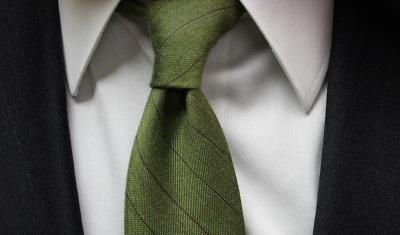 TheTieBar Green Tie on Dappered.com