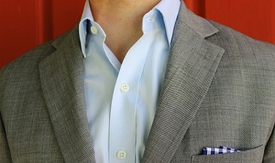 The Blue Fine Twill Slim Fit: Usually $115.