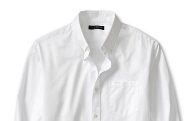 BR Soft wash white shirt