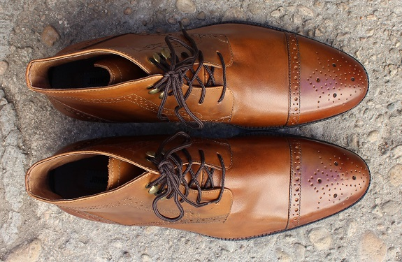 In Review The Johnston Amp Murphy Tyndall Cap Toe Boot