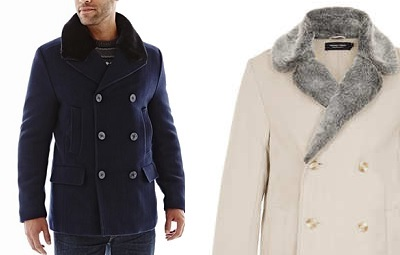 fuzzy collars with topman