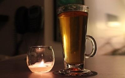 Hot whiskey sling