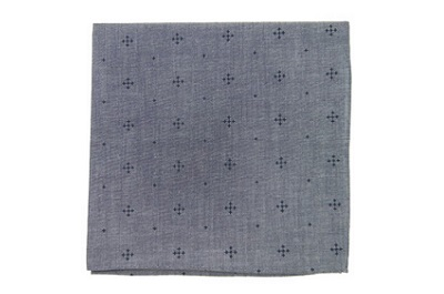 Chambray Pocket Square from TheTieBar on Dappered.com