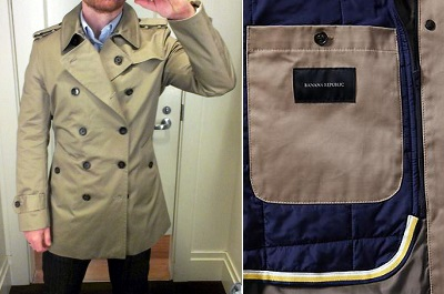 BR Trench on Dappered.com