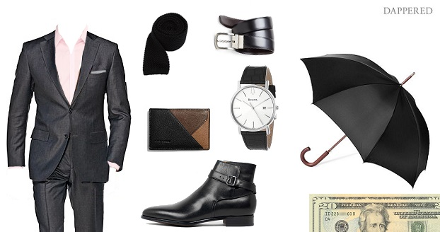 Style Scenario: Valentine's Day out by Dappered.com