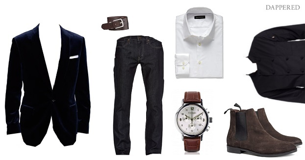 Style Scenario Valetines Day staying in by Dappered.com