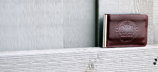 Mitchell Leather Money Clip Wallet reviewed on Dappered.com
