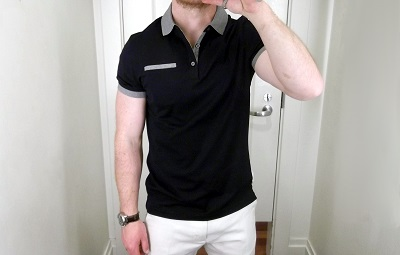 BR Contrast Collar Luxe Polo - part of Polopalooza 2014 on Dappered.com