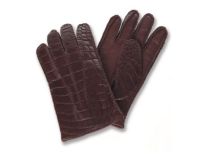 croc gloves: Channel your inner Dundee / Dappered.com