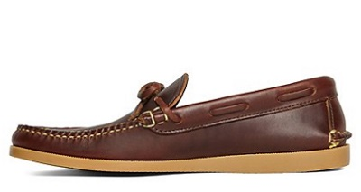 Rancourt & Co Boat Tie Moccasins on Dappered.com