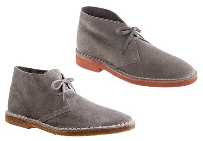Grey Suede Boots on Dappered.com
