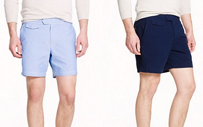 J Crew swimtrunks on Dappered.com