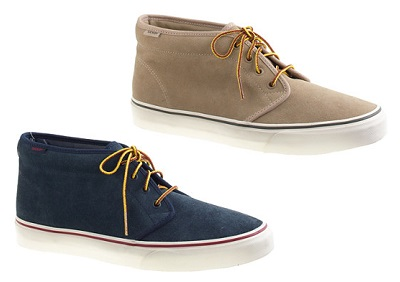 Vans Suede Chukkas on Dappered.com