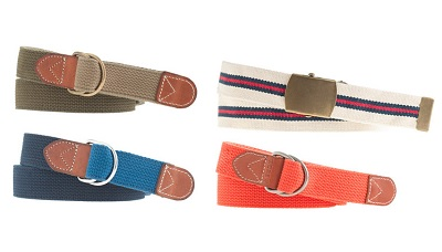 Summer Belts on Dappered.com