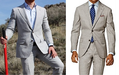Suitsupply Napoli light suiting - part of The Most Wanted on Dappered.com