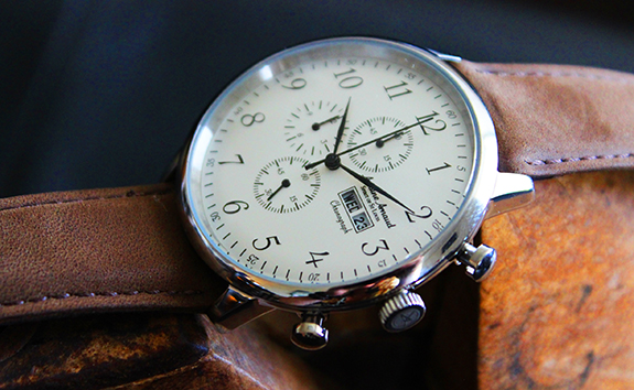 Review + Giveaway of Antoine Arnaud Spirit of St. Louis Watch on Dappered.com
