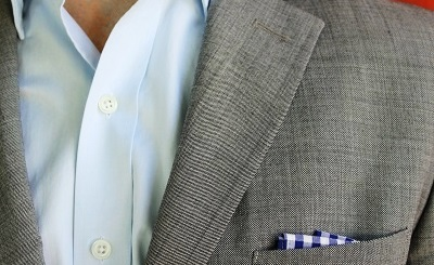 Gingham Pocket Square - part of The 10 Best Bets for $75 or Less on Dappered.com